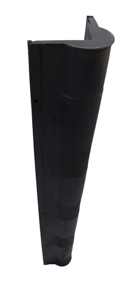 ErgoCorner Hjørnebeskytter, 120x120/90x90 x 900 mm