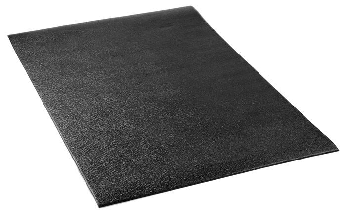 ErgoFit Fitnessmåtte, Medium, 1500x800x6 mm, sort